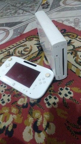 Wii U DESTRAVADO 32gb aceito troca