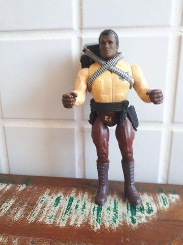 Turbo da linha Rambo! Raro brinquedo dos anos 80