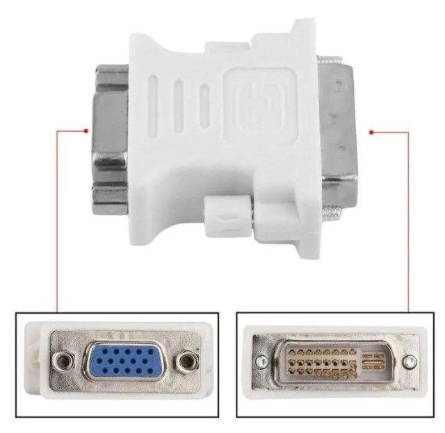 Adaptador DVI-I x VGA - Foto 2