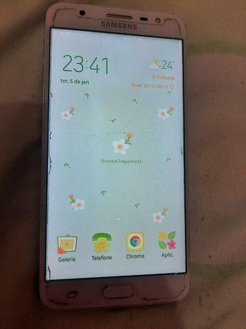 Vendo celular Samsung j7 prime 32gb rosa - Foto 2