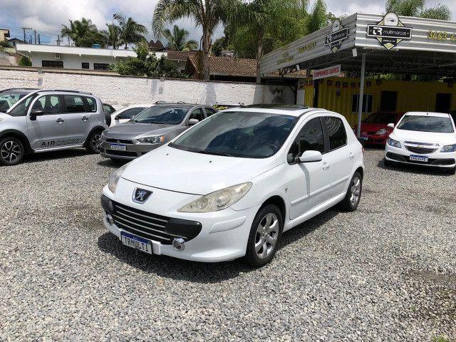 Peugeot 307 2012 c/teto couro - Foto 3