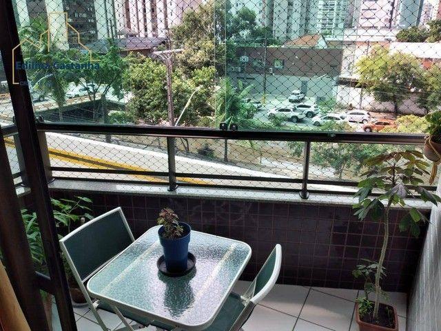 Excelente Apartamento com 4 dormitórios à venda, 94 m² por R$ 600.000 - Boa Viagem - Recif - Foto 11