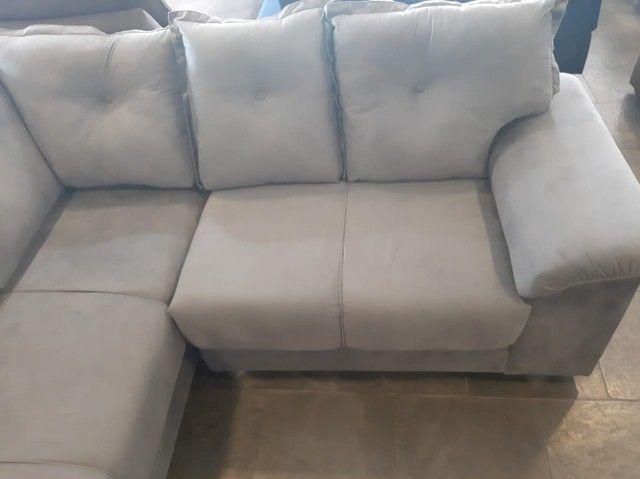 sofa canto 2,00x2,00 metro (novo) - Foto 4