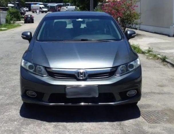 Honda Civic 2014/14 Lxr 2.0 Automático +C.Borb.E bancos Decouro - Foto 3