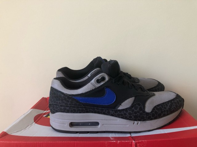 Nike air max 1 se reflective off NoirHype blue atmosphere