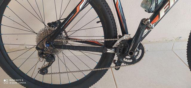 Bike aro 29 top de linha quadro Tam 18 - Foto 3