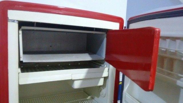 Refrigerador GE raridade antiguidade 1950 colecionador - Foto 4