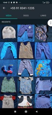 Lote bebê 0-6 meses (+ de 50 peças)