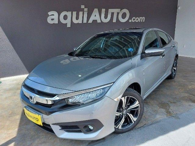Honda Civic Touring 1.5 16v Turbo 2019 Ùnico Dono!!! - Foto 4