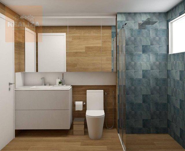 Apartamento com 3 dormitórios à venda, 120 m² por R$ 690.000 - Pedra - Eusébio/CE - Foto 4