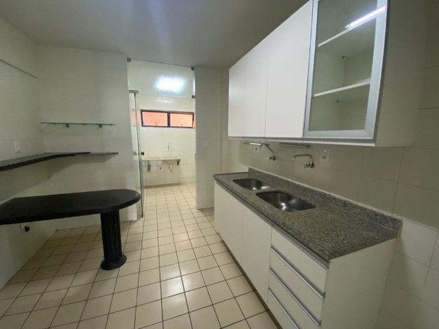 Apartamento com 3 dormitórios para alugar, 101 m²- Manaíra - João Pessoa/PB - Foto 4
