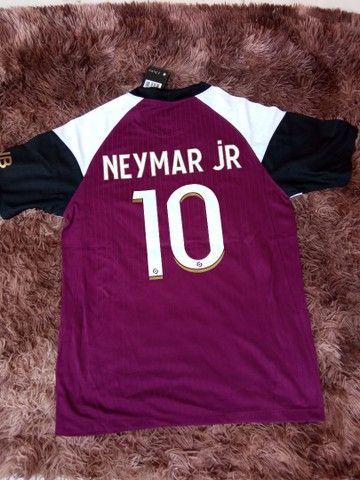 Camisa PSG Jordan Neymar JR 10 - 110 - Foto 2