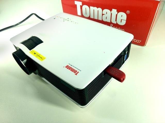Projetor De Led Tomate Cinema 800 Lumens Original Mpr-7007                          - Foto 3