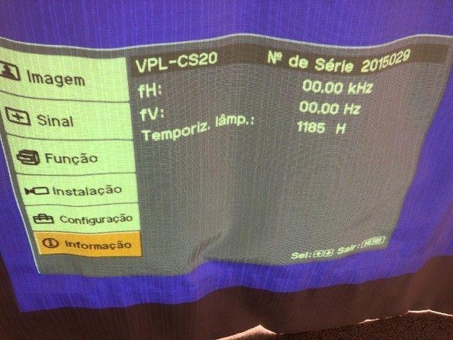 Projetor Multimídia Sony VPL-CS20 2000ANSI lumens - Foto 6