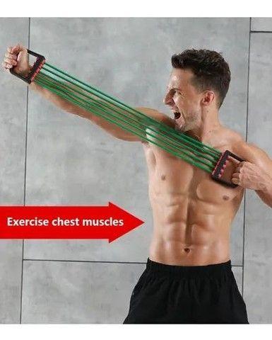 Elástico Extensor Para Exercícios E Alongamento - Foto 4