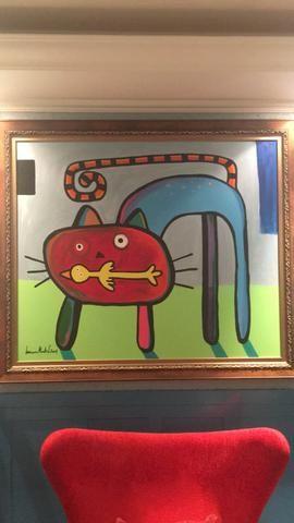 Pintura em Tela do artista Luciano Martins