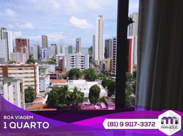 Flat residencial à venda, Boa Viagem, Recife.