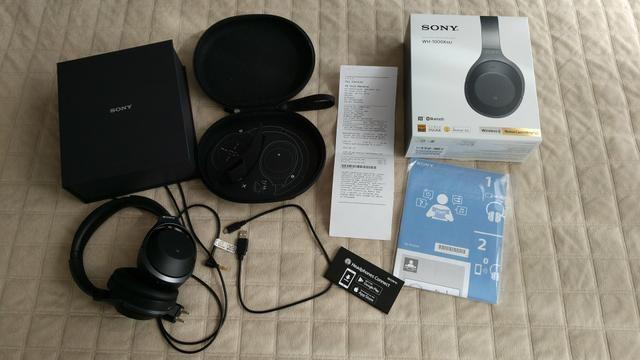 Fone De Ouvido Sony Wh-1000xm2 noise cancelling - Foto 5