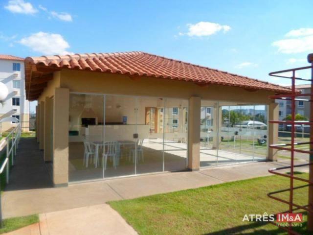 Apartamento com 2 dormitórios para alugar, 67 m² por r$ 600,00/mês - setor perim - goiânia