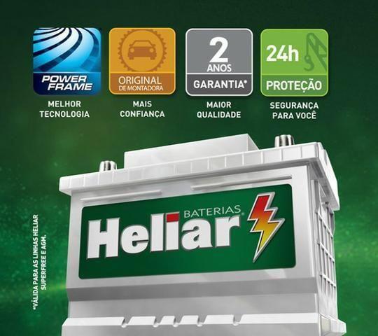 Bateria automotiva (Heliar,Moura,América,strada,Mg3)