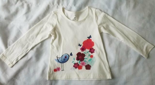 Lote camisas fininhas meninas 3 anos (novinhas) - Foto 4