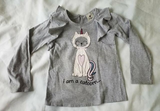 Lote camisas fininhas meninas 3 anos (novinhas) - Foto 5