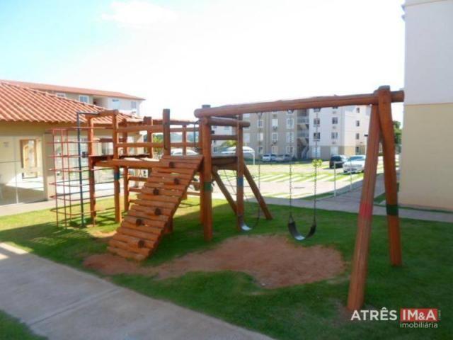 Apartamento com 2 dormitórios para alugar, 67 m² por r$ 600,00/mês - setor perim - goiânia - Foto 13