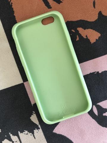 Capa emborrachada do iPhone 6 - Foto 2