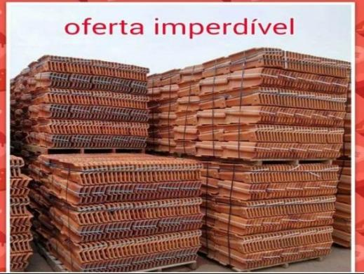 Telha Resinada/Hidrofugada Romana R$ 1,29 unidade - Frete Gratis - Foto 4