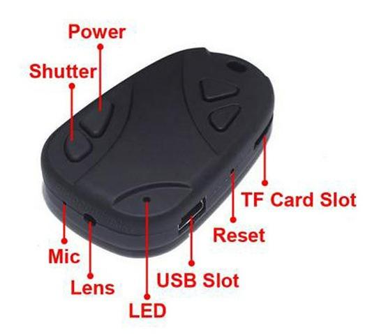 Câmera filmadora fpv dvr suporte - Foto 2