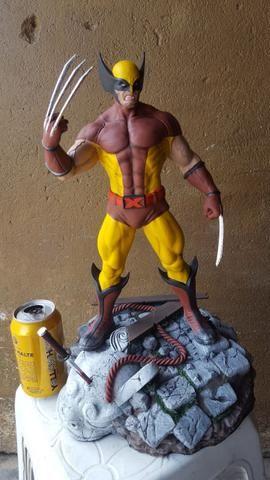 Estátua Wolverine peça de coleção - Foto 2