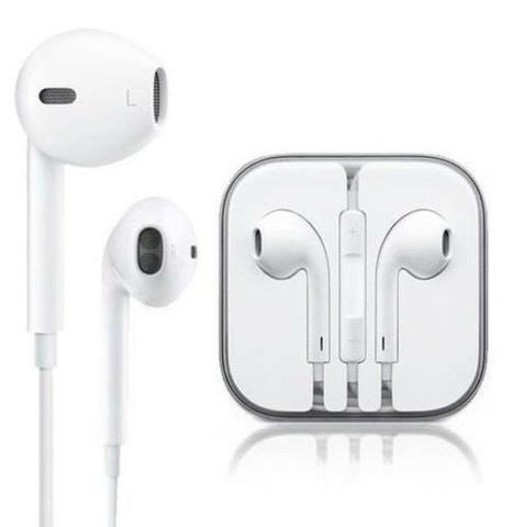 Fone de ouvido p2 com fio com microfone auricular universal Iphone Earpod