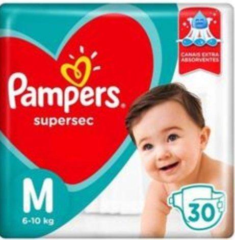 Fralda Pampers Supersec M