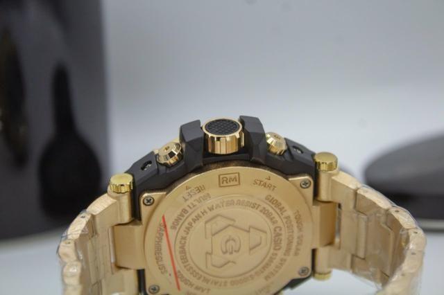 Relógio de pulso G-shock Full metal dourado barato - Foto 5