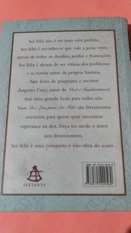 Livro de bolso: Dez Leis para ser Feliz e Você é Insubstituível - Foto 4