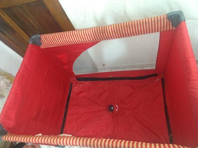 Cercado vermelho unissex kiddo - Foto 3