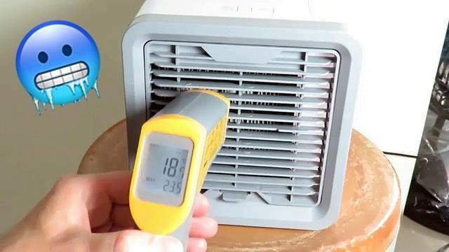 Climatizador De Ar Pessoal 3 níveis de ventilação USB - Foto 3