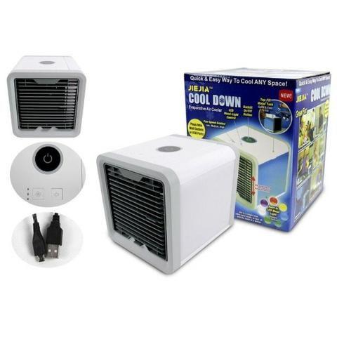 Climatizador De Ar Pessoal 3 níveis de ventilação USB - Foto 2