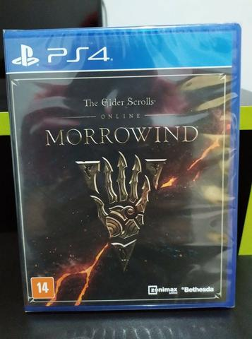 The Elders Scrolls Online + DLC Morrowind - PS4 - NOVO