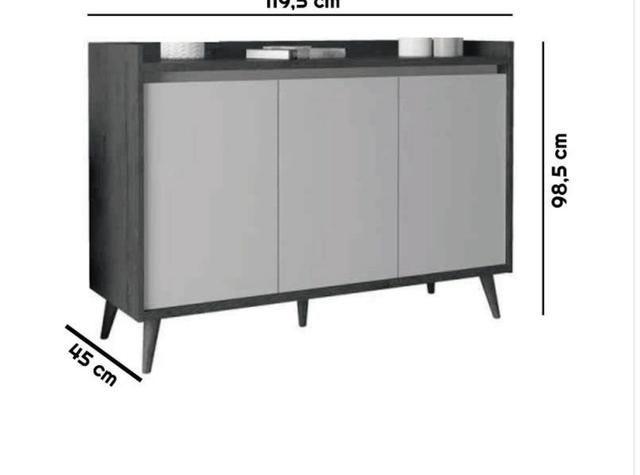 Promoção aparador novo na caixa pra vender logo - Foto 3