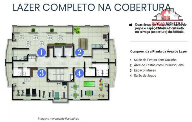 Apartamento à venda com 2 dormitórios em Parque industrial, São josé dos campos cod:AP3174 - Foto 4