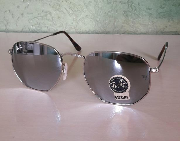 7d417bf5e7805 Óculos Ray Ban Hexagonal Original Importado - Bijouterias, relógios ...