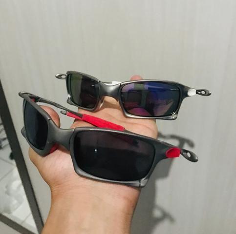 Óculos Oakley X squared plasma e x squared Xmetal - Bijouterias ... 14e9e1c2bd