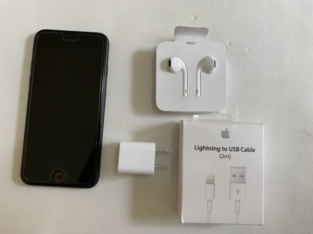 IPhone 7 preto 32gb usado