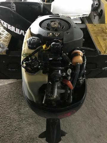 Motor evinrude 50 hp etec 2017 completo em ótimas condições de uso com  procedência