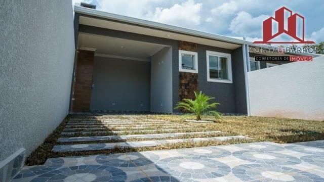 Casa à venda com 3 dormitórios em Nações, Fazenda rio grande cod:CA00058 - Foto 9