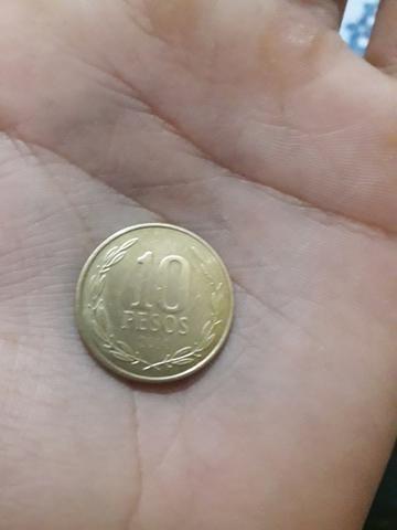 Vendo moeda de 10pesos