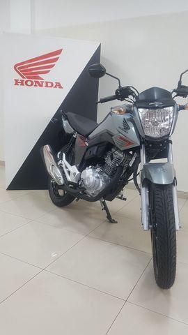 Honda Fan 160 0km Mega Feirão Cometa x Santander - Foto 3