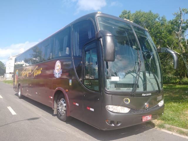Ônibus volvo B7R 2005/06 Marcopolo 1200 - Foto 6
