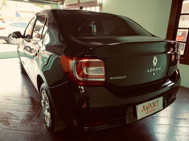 Renault Logan Authentique 1.0 (Flex) 2019 - Foto 3